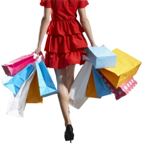 women with shopping bag (from mylot.com) 2542966