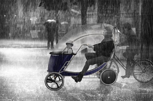 Regnvejre_B&W